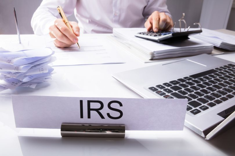 can the irs garnish wages